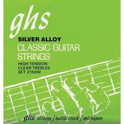GHS STRINGS 2150W SILVER ALLOY