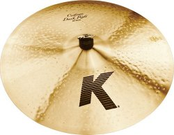 ZILDJIAN 20` K` CUSTOM DARK RIDE