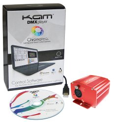 KAM DMX Player USB DMX