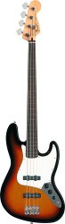FENDER STANDARD JAZZ BASS FRETLESS RW BROWN SUNBURST TINT