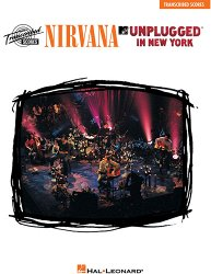HAL LEONARD 672405 NIRVANA - UNPLUGGED IN NEW YORK