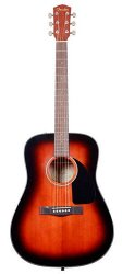 FENDER CD-60 DREADNOUGHT SUNBURST (в составе компл
