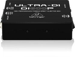 Behringer DI600P- Пассивный DI-box с согласов для прям подключ инструм./выходов усилит. к микшеру