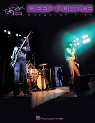 HAL LEONARD 672502 DEEP PURPLE - GREATEST HITS