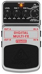 Behringer FX600 - Педаль цифровых стерео мультиэффектов ( фленджер, хорус, фейзер и т.п.)