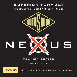 ROTOSOUND NXA10 STRINGS COATED TYPE