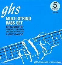 GHS STRINGS 5L-DYB BOOMERS