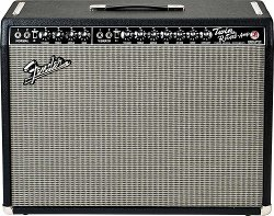 FENDER `65 TWIN REVERB 85 WATTS 2-12` JENSEN BLACK TOLEX