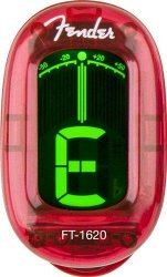 FENDER CALIFORNIA SERIES CLIP-ON TUNER CANDY APPLE