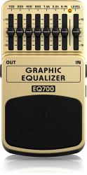 Behringer EQ700- 7-полосный графический эквалайзер для гитары или клавишных