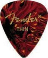 FENDER 351 SHAPE PICKS 1 GROSS SHELL THIN