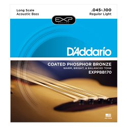 D`ADDARIO EXPPBB170 COATED PHOSPHOR BRONZE 45-100