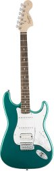 Fender Squier Affinity Series Stratocaster® HSS Rosewood Fingerboard Race Green