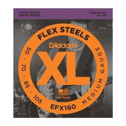 D`ADDARIO EFX160 SET BASS FLEXST