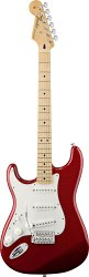 FENDER STANDARD STRATOCASTER LH MN CANDY APPLE RED TINT