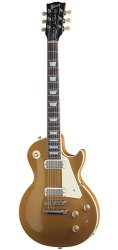 GIBSON USA LES PAUL DELUXE 2015 METALLIC GOLD TOP