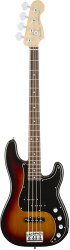 FENDER American Elite Precision Bass®, Rosewood Fingerboard, 3-Color Sunburst