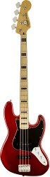 FENDER SQUIER VINTAGE MODIFIED JAZZ BASS® `70S MAPLE FINGERBOARD CANDY APPLE RED