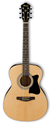 IBANEZ VC50NJP-NT, набор из акустической гитары, тюнера, чехла и аксессуаров