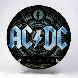 Музыкальный сувенир Тарелка AC/DC ( Black Ice )