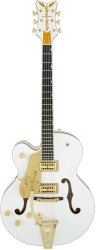 Gretsch G6136TLH-WHT Players Edition Falcon™ with Bigsby®, Left-Handed, Filter`Tron™ Pickups, White