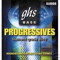 GHS STRINGS XL8000 PROGRESSIVES