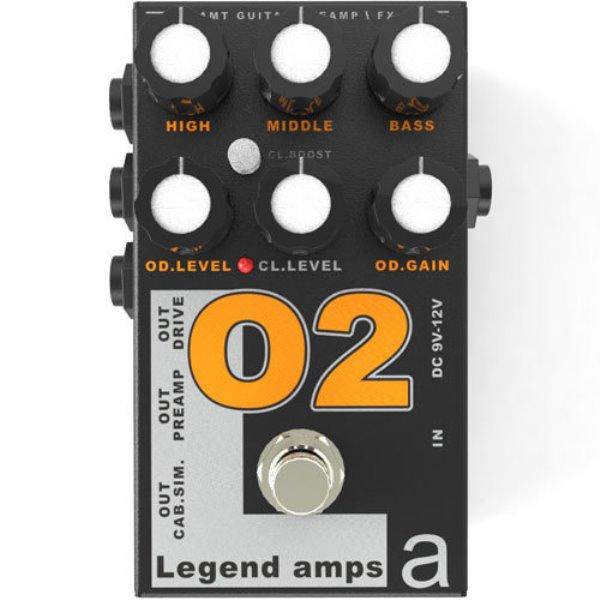 Electronics O-2 Legend Amps 2 Двухканальный гитарный предусилитель О2 (Orange DC30)