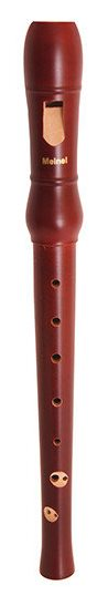 M206-1-BROWN Блокфлейта сопрано, немецкая система, клен