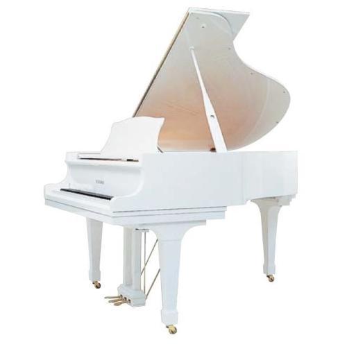 GL-20 WH/P кабинетный рояль/Длина157см/белый полированный/покрытие клавиш акрил/фенол