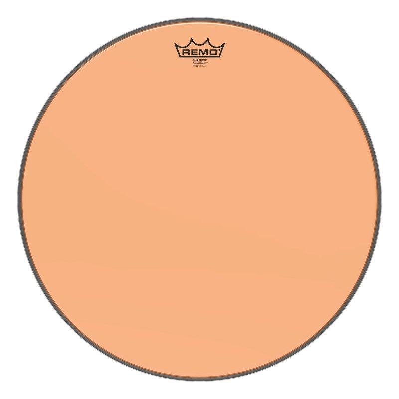 BE-0318-CT-OG Emperor® Colortone™ Orange Drumhead, 18.