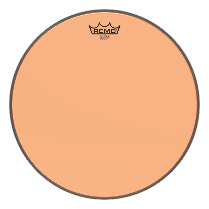 BE-0315-CT-OG Emperor® Colortone™ Orange Drumhead, 15.