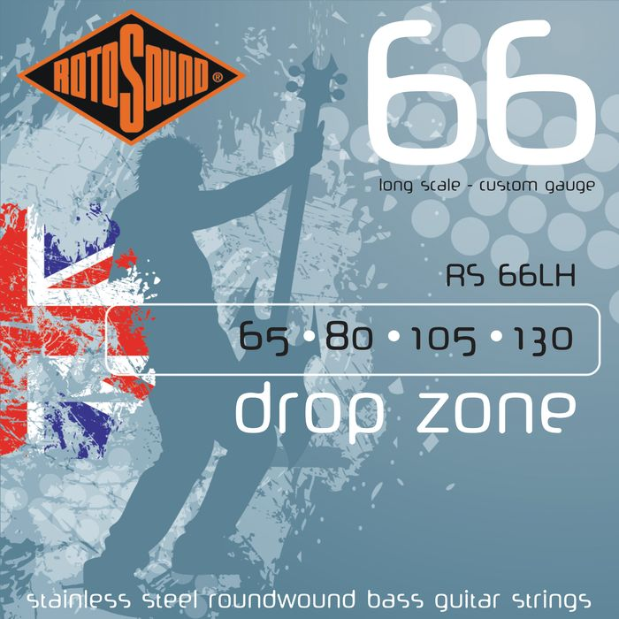 RS66LH BASS STRINGS STAINLESS STEEL
