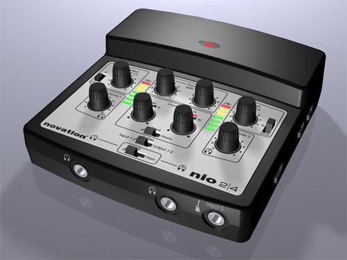 nio 2/4 USB , 2in/4out, MIDI in/out, 2 , USB