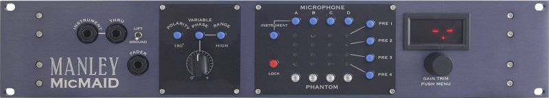 MicMAID Mic-Mic Preamp Matrix/Switcher