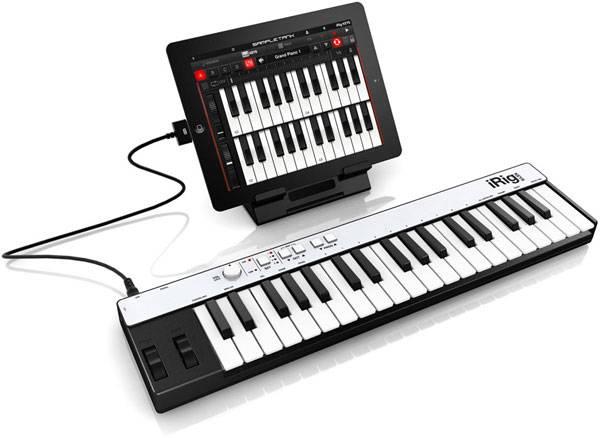 IK Multimedia iRig KEYS MIDI- iPhone, iPod touch iPad
