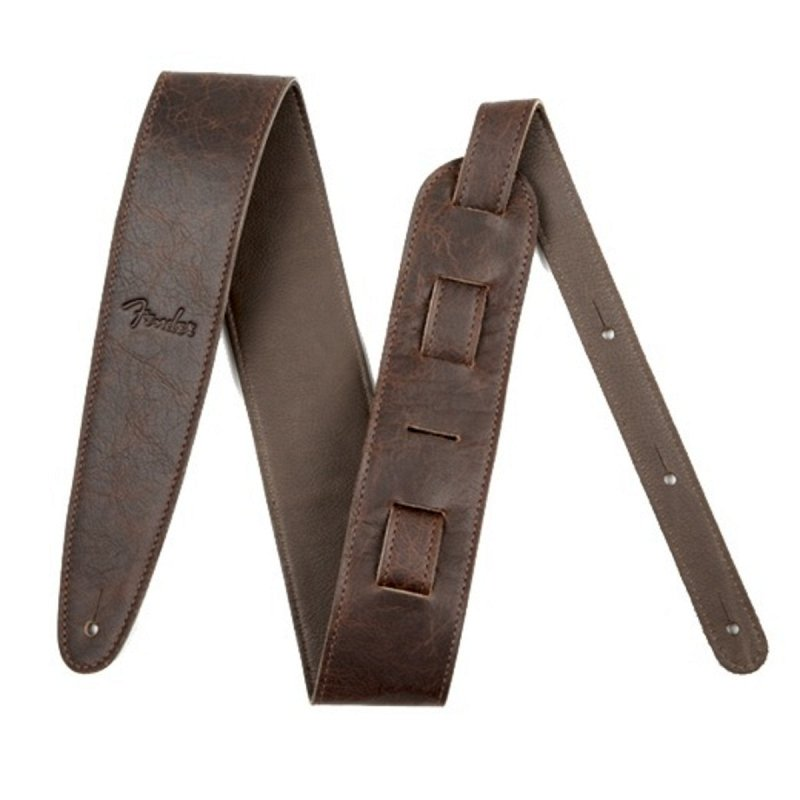 Artisan Crafted Leather Strap, 2` Brown