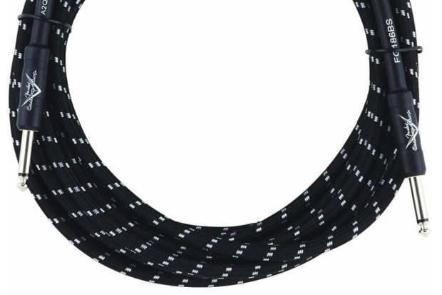 CUSTOM SHOP 18.6` INSTRUMENT CABLE BLACK TWEED