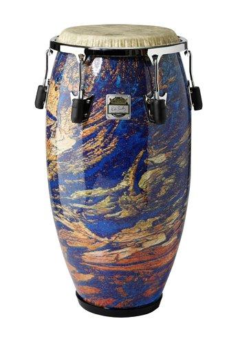 CG-3212-MS- PONCHO SANCHEZ™ Conga, 12.50` Diameter, 30` Depth, Chrome Curved Rim Hoop, NUSKYN® Head, Fabric Molten Sea