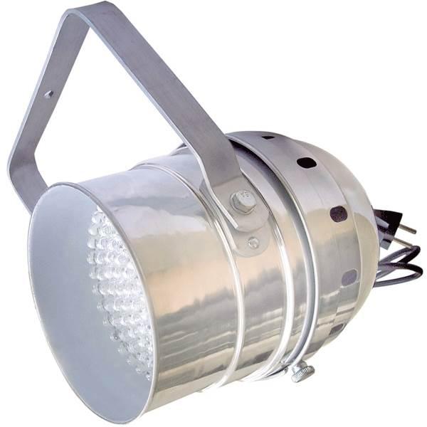 LED Par56/AL - светодиодный RGB прожектор (хром), звуковая активация , DMX-512