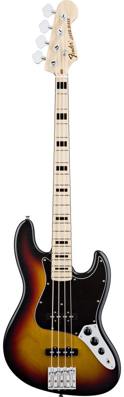 Geddy Lee Jazz Bass, Maple Fingerboard, 3-Color Sunburst