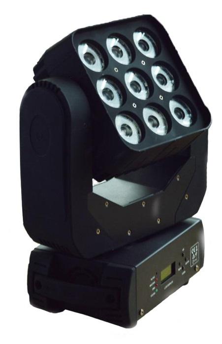 LM90 Моторизированная световая `мини-голова`, 9х15Вт