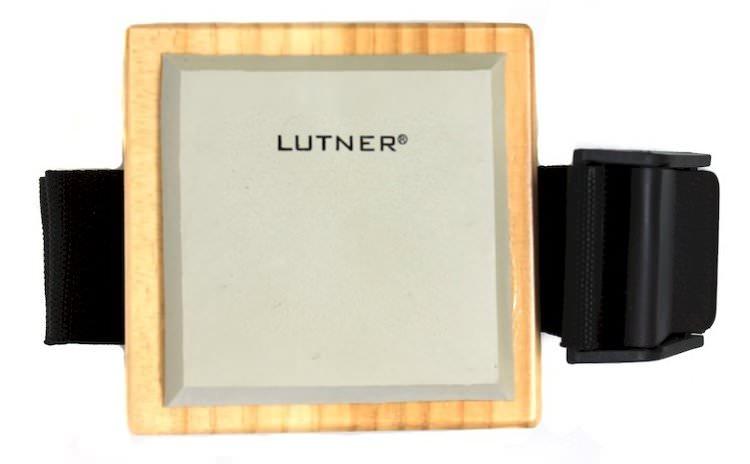 FS1 Тренировочный пэд на ремне для барабанщика, квадратный, белая резина