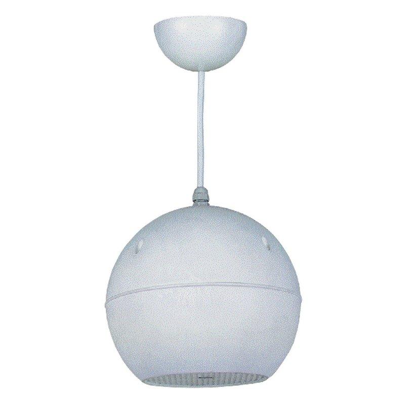 CSR-206 - Громк-тель-сфера 6.5`, подвесной , 20Вт,100/70V/ 8Om, цвет бел.120-20000Hz,вес 2.45кг