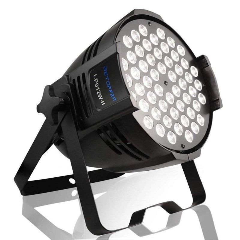 LP012W-H Светодиодный прожектор, белый теплый, 54х3Вт