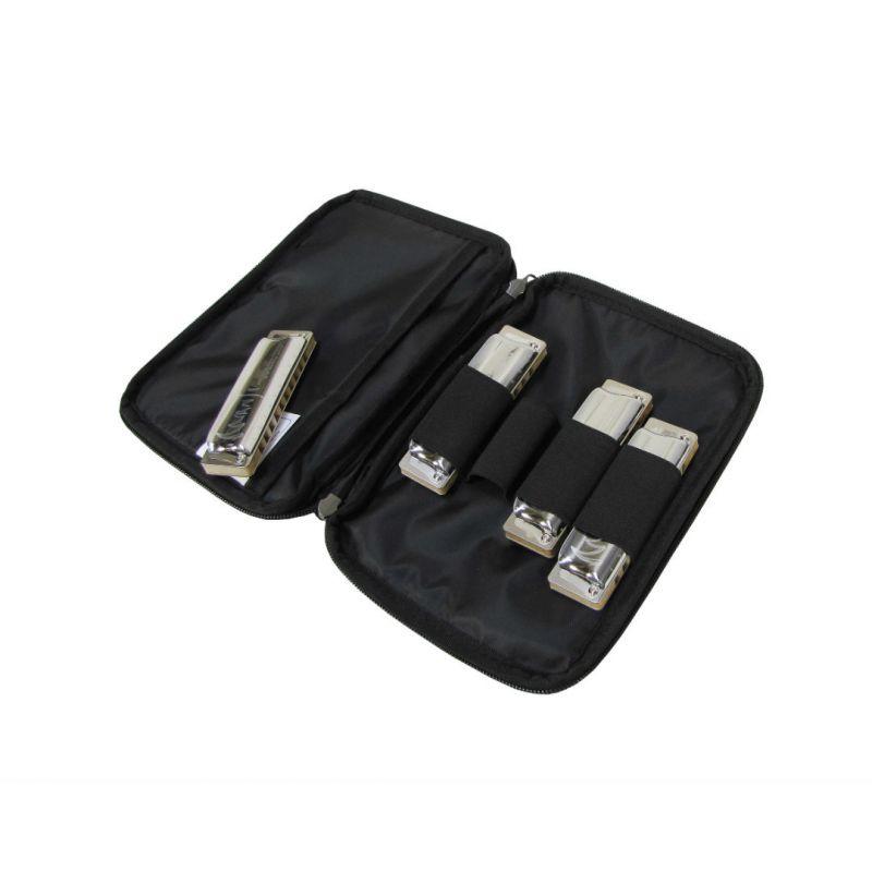 HSC-D6D BL кейс для 6-ти губных гармошек