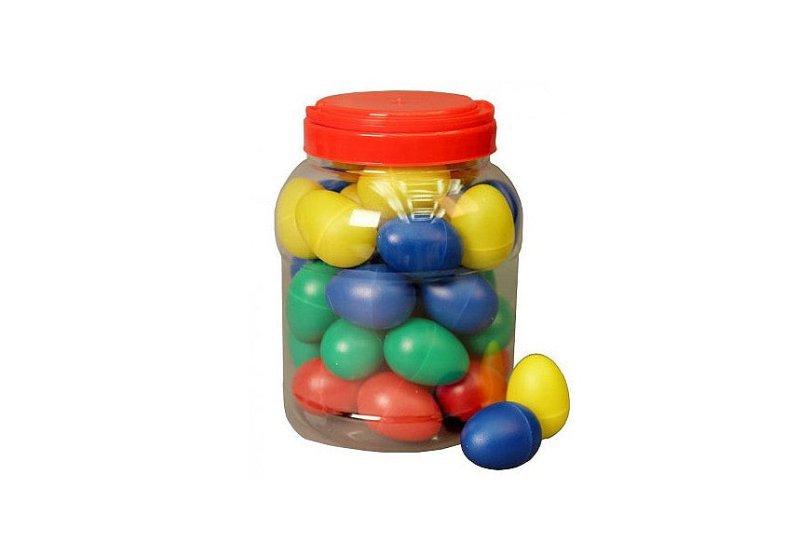 LT20M101-4 Ведро пластиковых маракасов-яйцо 40шт