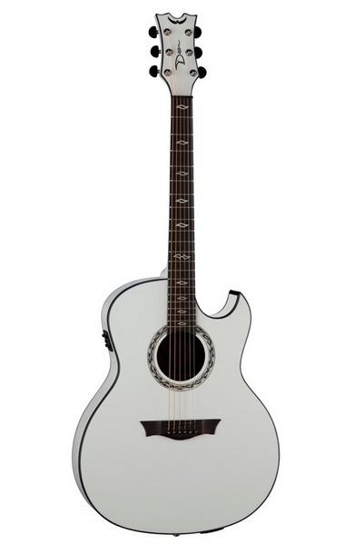 EXULTRA CWH - электроакустическая гитара с подкл. USB, актив.эл,EQ,тюнер,, цвет - белый