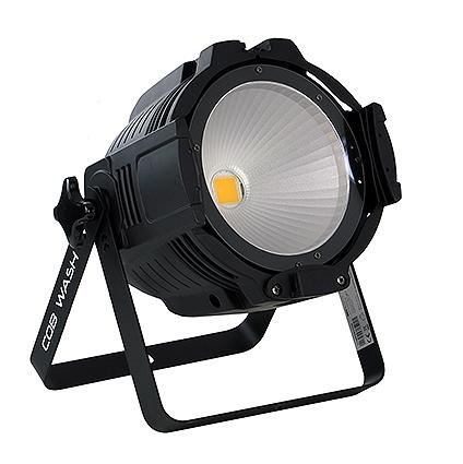 COBPAR100T - светодиодный прожектор (чёрн), 100 Вт RGB мультичип (COB)