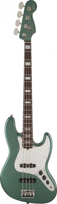 Adam Clayton Jazz Bass, Rosewood Fingerboard, Sherwood Green Metallic фото