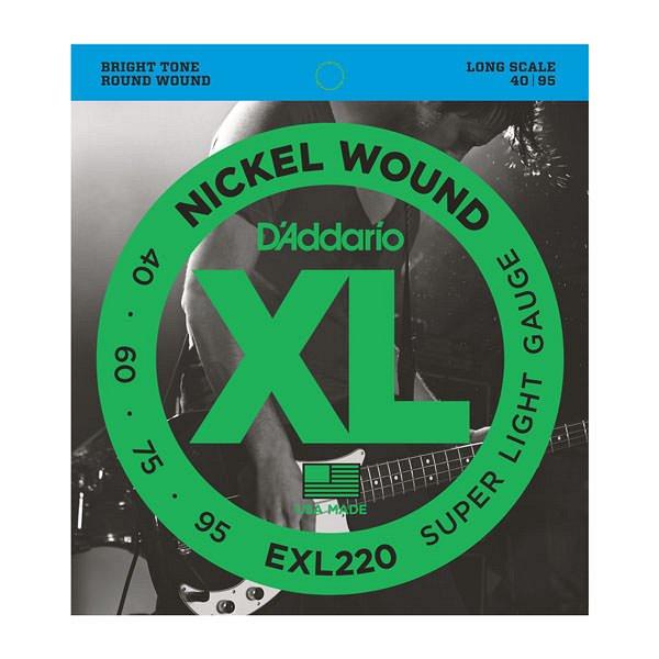 EXL220 SET BASS XL 40-95 LONG SCALE